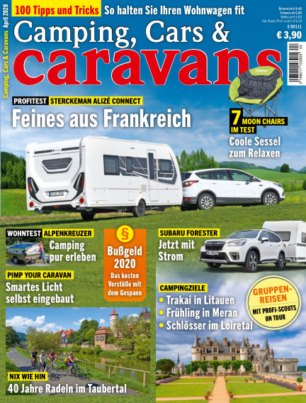 Camping, Cars & Caravans March 10, 2020 00:00