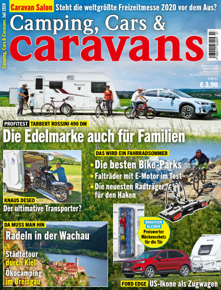 Camping, Cars & Caravans June 09, 2020 00:00