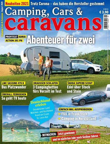 Camping, Cars & Caravans July 14, 2020 00:00