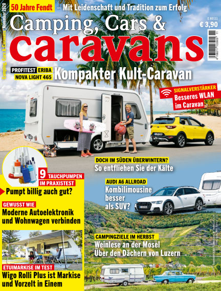 Camping, Cars & Caravans October 13, 2020 00:00