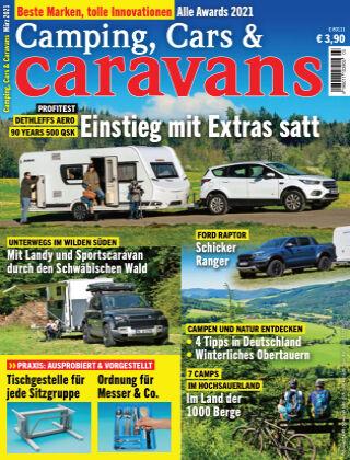 Camping, Cars & Caravans 03/2021