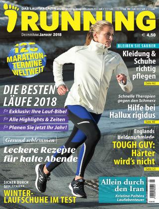 RUNNING – Das sportliche Laufmagazin 01/18