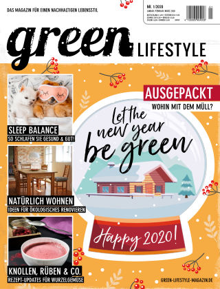 greenLIFESTYLE 01/20