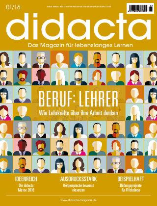 didacta – Das Magazin für lebenslanges Lernen 01/16