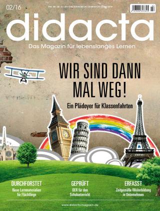 didacta – Das Magazin für lebenslanges Lernen 02/16