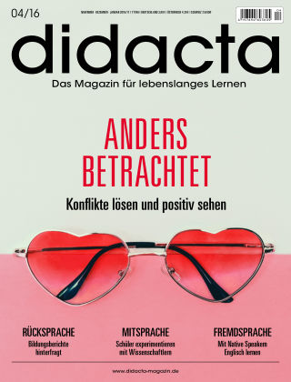 didacta – Das Magazin für lebenslanges Lernen 04/16