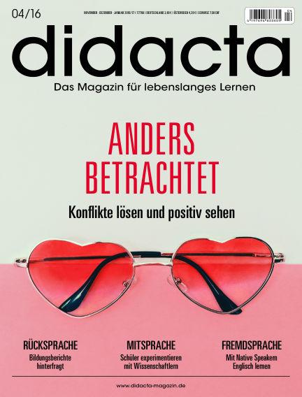didacta – Das Magazin für lebenslanges Lernen November 09, 2016 00:00