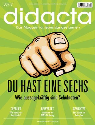 didacta – Das Magazin für lebenslanges Lernen 03/17
