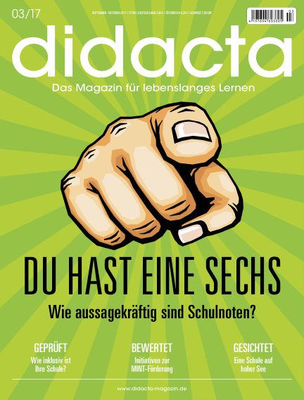 didacta – Das Magazin für lebenslanges Lernen September 14, 2017 00:00