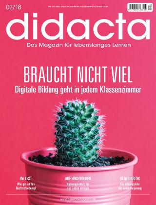 didacta – Das Magazin für lebenslanges Lernen 02/18