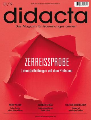 didacta – Das Magazin für lebenslanges Lernen 01/19