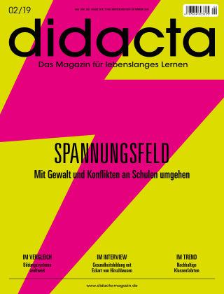 didacta – Das Magazin für lebenslanges Lernen 02/19
