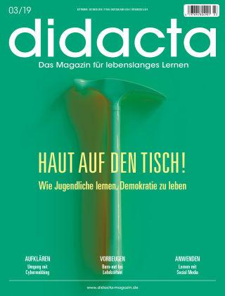 didacta – Das Magazin für lebenslanges Lernen 03/19