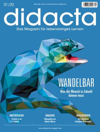 didacta – Das Magazin für lebenslanges Lernen 01/20