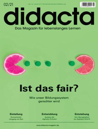 didacta – Das Magazin für lebenslanges Lernen 02/21