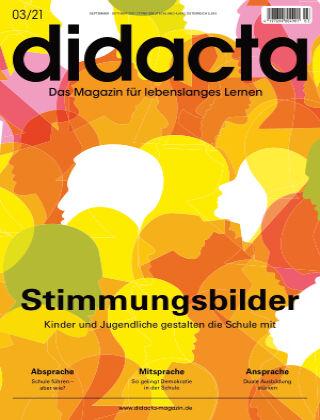 didacta – Das Magazin für lebenslanges Lernen 03/21