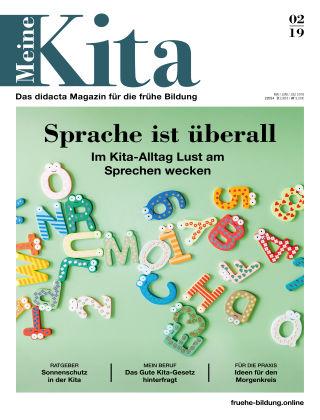 Meine Kita – Das didacta Magazin für die frühe Bildung 02/19