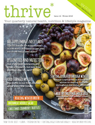 Thrive Magazine Winter 2016