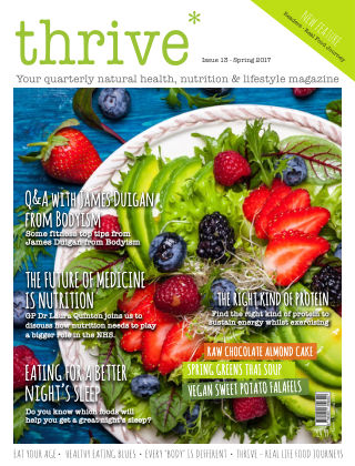 Thrive Magazine Spring 2017