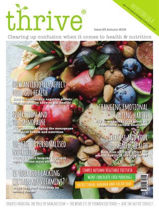 Thrive Magazine Autumn 2019
