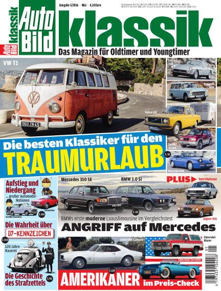 AUTO BILD KLASSIK April 01, 2016 00:00