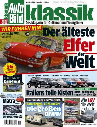 AUTO BILD KLASSIK NR.011 2016