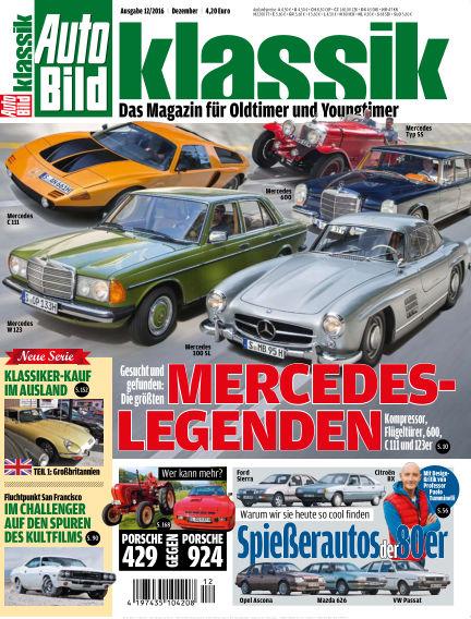 AUTO BILD KLASSIK November 04, 2016 00:00