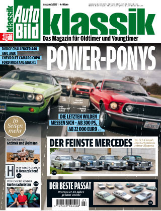 AUTO BILD KLASSIK NR.007 2017