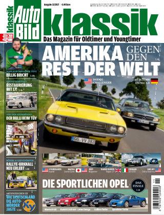 AUTO BILD KLASSIK NR.011 2017