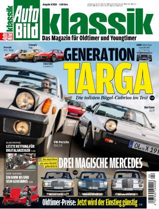 AUTO BILD KLASSIK NR.004 2018