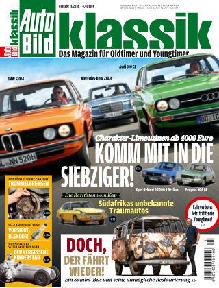 AUTO BILD KLASSIK NR.011 2018