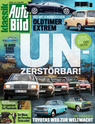 AUTO BILD KLASSIK NR.001 2019