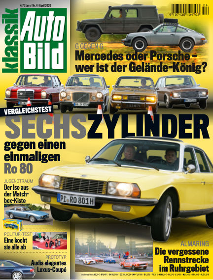 AUTO BILD KLASSIK March 19, 2020 00:00
