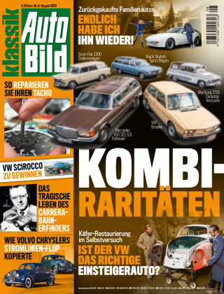 AUTO BILD KLASSIK NR.008 2020