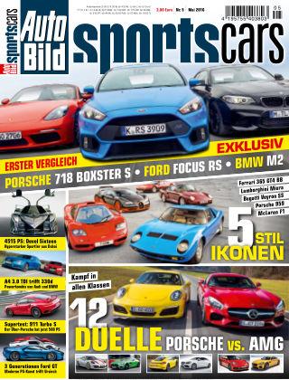 AUTO BILD Sportscars NR.005 2016