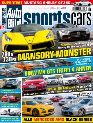 AUTO BILD Sportscars NR.006 2016