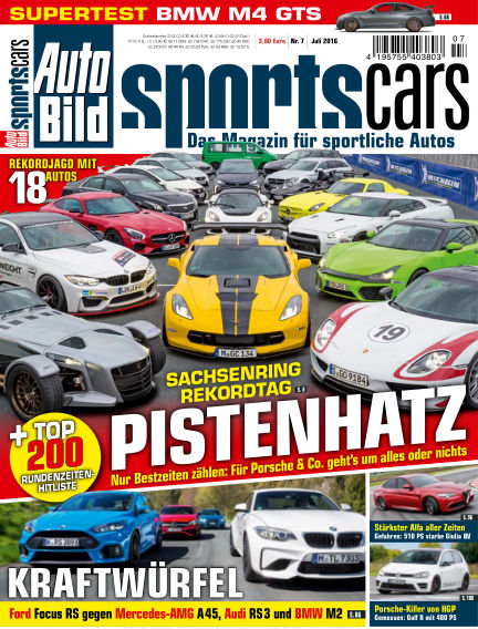 AUTO BILD Sportscars June 10, 2016 00:00