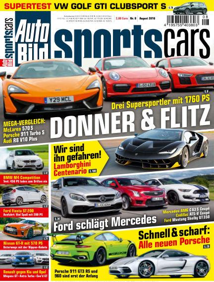 AUTO BILD Sportscars July 08, 2016 00:00