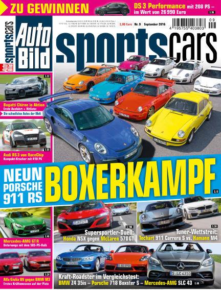 AUTO BILD Sportscars August 05, 2016 00:00