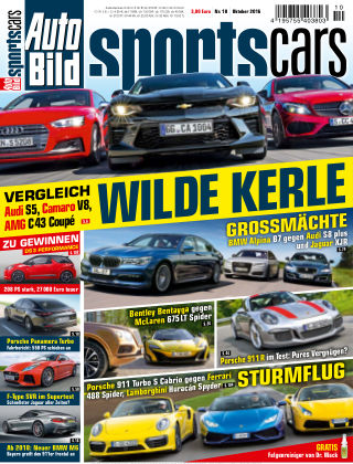 AUTO BILD Sportscars NR.010 2016