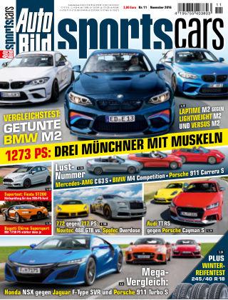 AUTO BILD Sportscars NR.011 2016