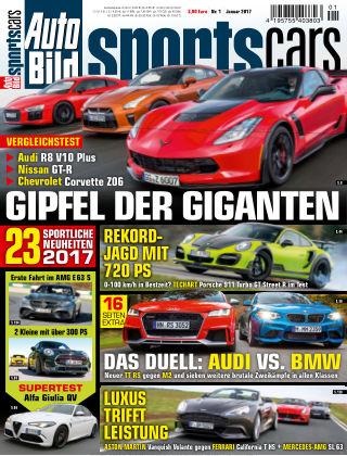 AUTO BILD Sportscars NR.001 2017