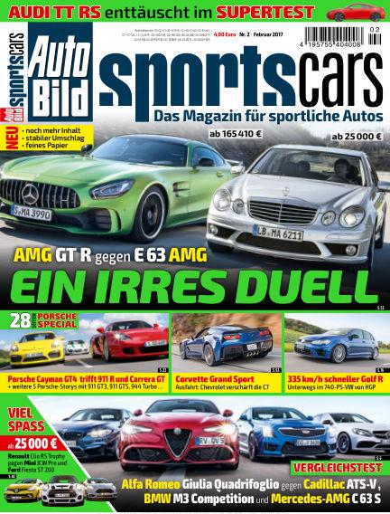 AUTO BILD Sportscars January 13, 2017 00:00