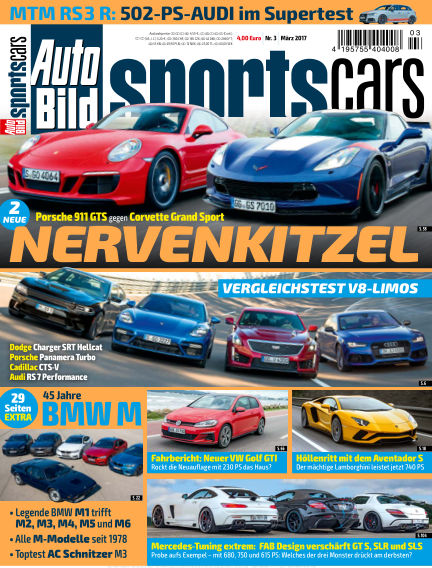 AUTO BILD Sportscars February 10, 2017 00:00