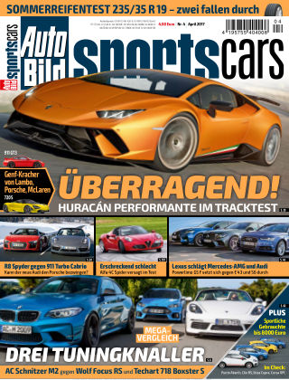 AUTO BILD Sportscars NR.004 2017