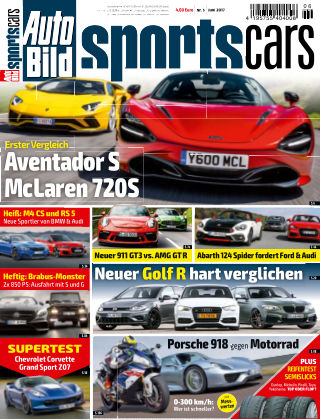 AUTO BILD Sportscars NR.006 2017