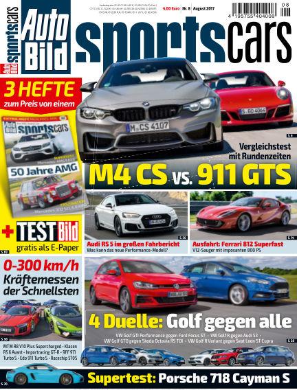 AUTO BILD Sportscars July 14, 2017 00:00