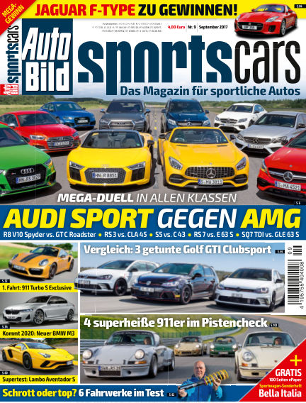AUTO BILD Sportscars August 11, 2017 00:00