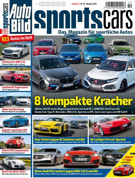 AUTO BILD Sportscars September 08, 2017 00:00