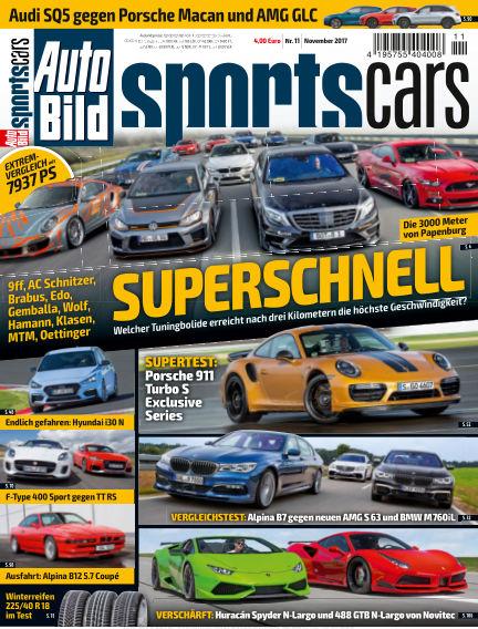 AUTO BILD Sportscars October 13, 2017 00:00